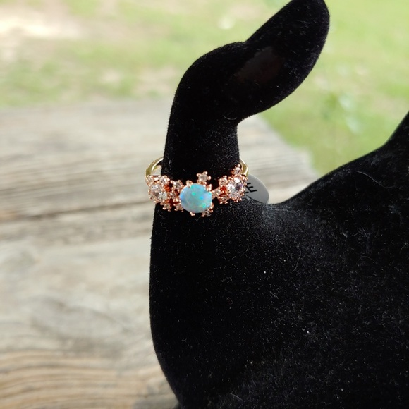 Fragrant Jewels Jewelry - Celestial Collection Stars Ring in Rose Gold Tone